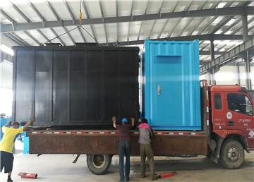 mbr一体化污水处理设备发货陕西
