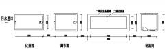 农村mbr污水处理设备处理池平面图
